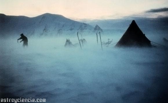 Ventisca Antártica