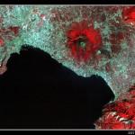 Imágenes de la Tierra 11: El Vesubio en Italia