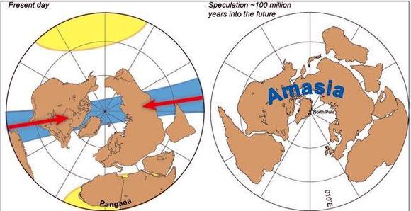 Amasia, el próximo continente