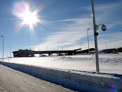 La nieve tiene el albedo más alto de toda la superficie terrestre