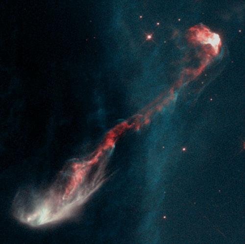 Estrella joven HH47 - objeto Herbig-Haro
