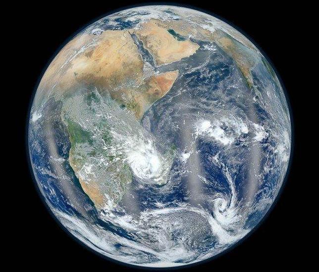 Fotografía oriental de la Tierra HD