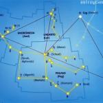 Localizar la constelación de Pegaso (Peg), Andrómeda (And) y el Lagarto (Lac)