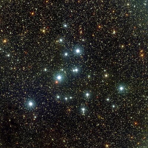 Magnitudes de estrellas