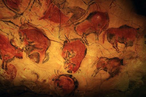 Posibles representaciones de constelaciones en las cuevas de Altamira