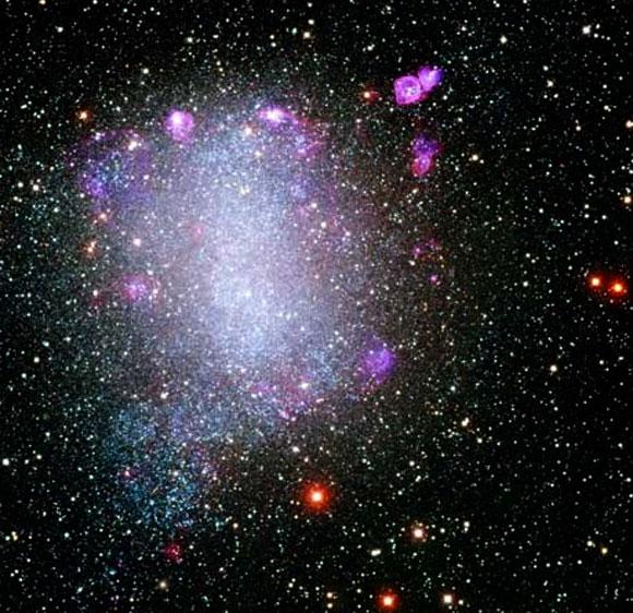 La Galaxia de Barnard (NGC 6822)