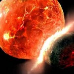 La Tierra surgió del impacto de meteoritos