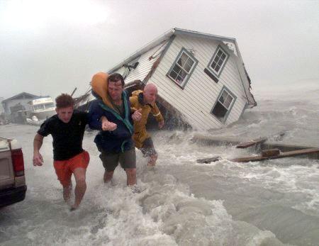 Huracán Mitch de categoría 5