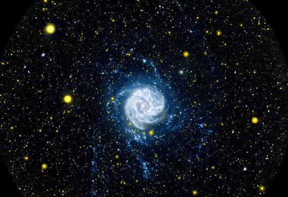 Aun se están creando galaxias