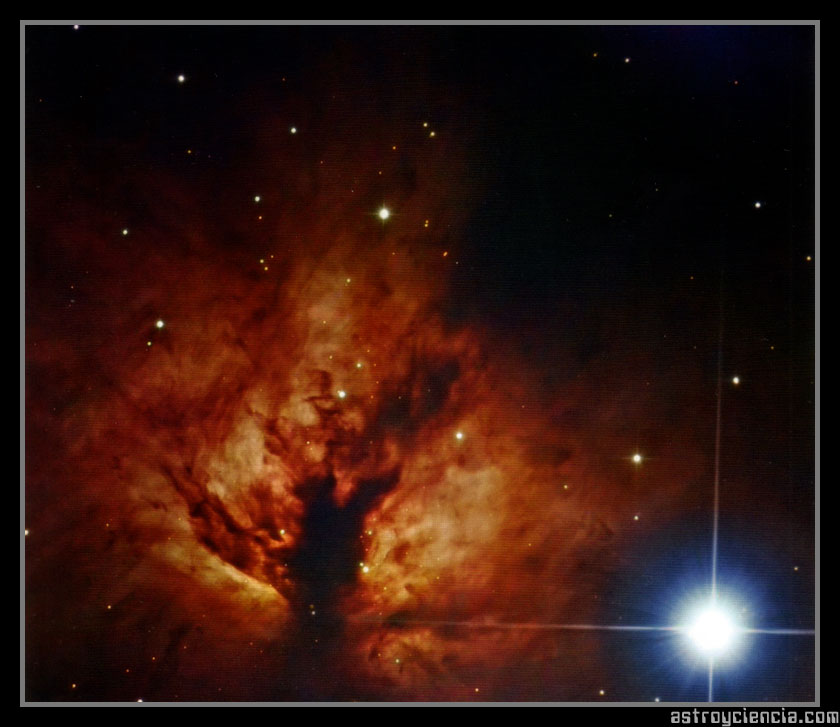 Nebulosa Flamígera (NGC 2024)
