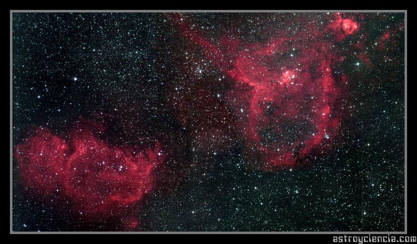 Nebulosas Alma y Corazón