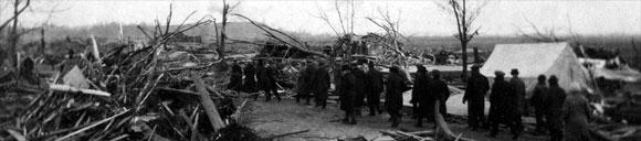 Tornado de Missouri en 1925 - Desolación
