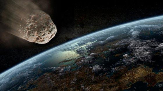 Asteroide que podría impactar con nuestros satélites
