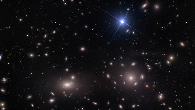 Espectacular imagen del cúmulo Coma o Abell 1656