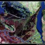 Imágenes de la Tierra 18: Delta del río Paraná en Argentina