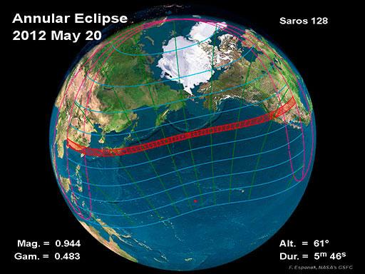 Eclipse anular del 20 de mayo de 2012