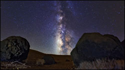 El cielo de las Islas Canarias