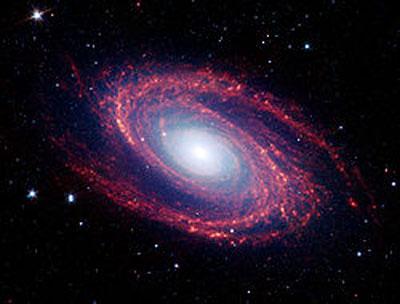 Galaxia espiral de Bode