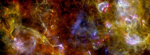 Espectacular imagen captada de la nebulosa del cisne