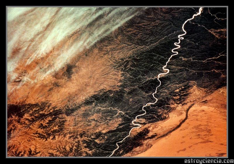 Río Huang Ho (Río Amarillo) en China