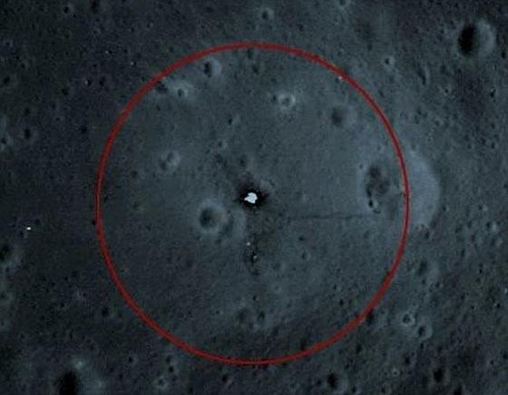 Zonas prohibidas en la Luna por la NASA