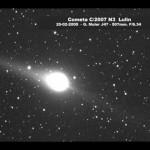 Interesante vídeo del cometa Lulin C/2007 N3