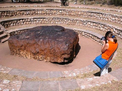 Meteorito Hoba West, el meteorito más grande del mundo