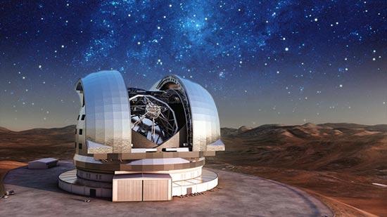 El telescopio más grande se construirá en Chile