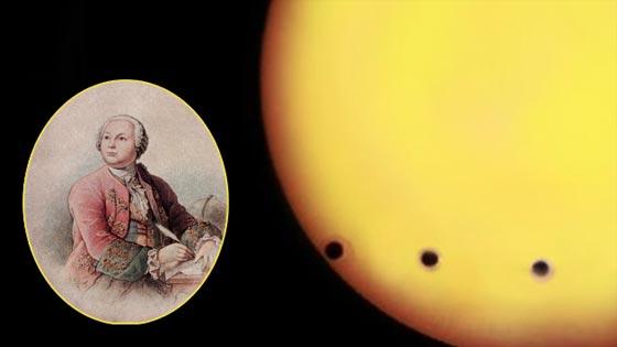 Transito de Venus a ojos de Lomonosov