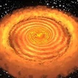 Nacimiento de una estrella igual al Sol