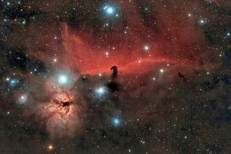 Estrellas marrones recién nacidas en la nebulosa de Orión