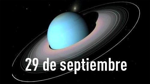 Urano se acerca a la Tierra el 29 de Septiembre