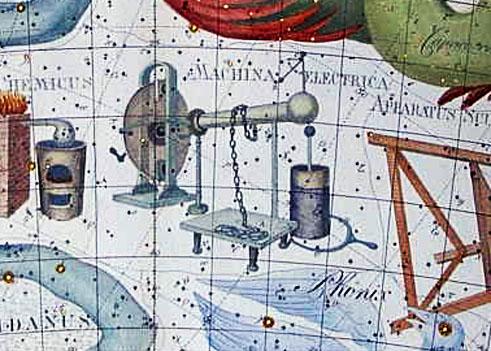 Constelación de la Máquina Eléctrica